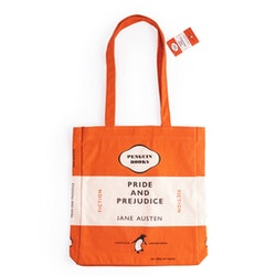 Pride and Prejudice Book Bag Orange