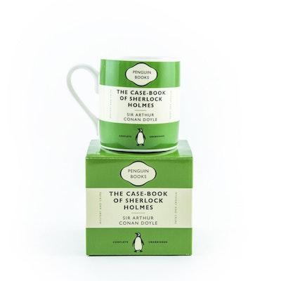 Casebook of Sherlock Holmes Mug Green