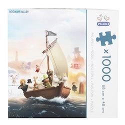 Pussel Moominvalley 1000 bitar Peliko