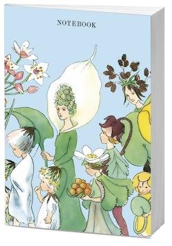 Beskow Notebook Blomsterfesten