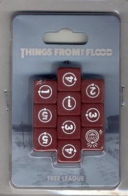 Things from the Flood RPG Dice Set 10st
