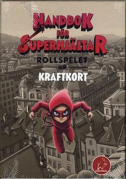 Handbok för superhjältar - rollspelet: Kraftkort