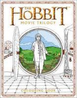Hobbit movie trilogy colouring book - heroes and villains