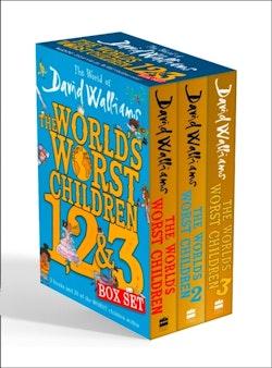 World of David Walliams: The World's Worst Children 1, 2 & 3 Box Set