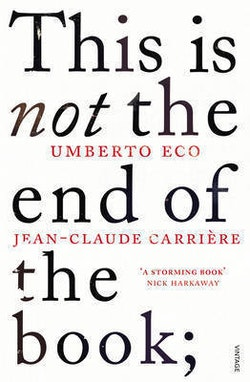 This is not the end of the book - a conversation curated by jean-philippe d
