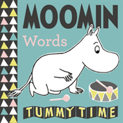 Moomin Baby: Words Tummy Time Concertina Book