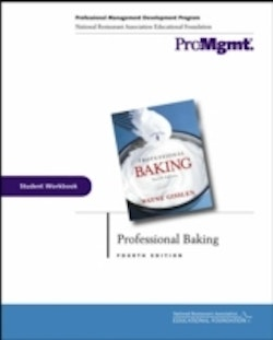 Professional Baking, Student Workbook, 4th Edition