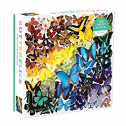 Rainbow Butterflies 500 piece puzzle