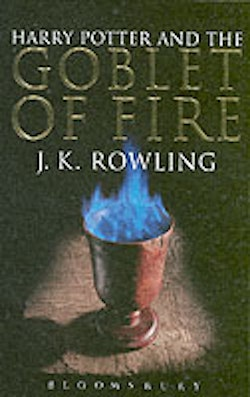 Harry Potter and the goblet of fire (vuxen pocket A)