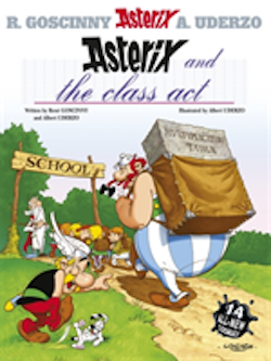 Asterix and the Class Act (Album 32)