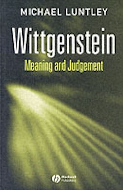 Wittgenstein - meaning and judgement