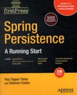 Spring Persistencemdash; A Running Start