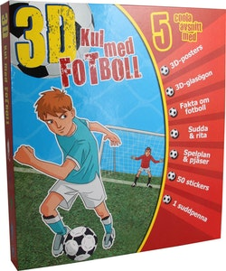 3D Kul med fotboll