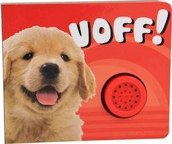Voff! boardbok med ljud