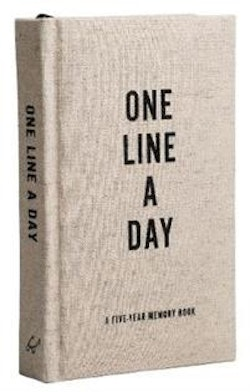 Canvas One Line a Day : A Five-Year Memory Book