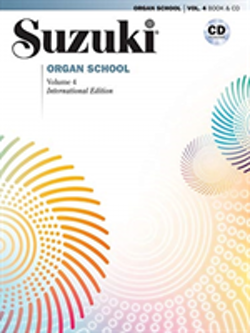 Suzuki Organ School vol 4 bok/cd
