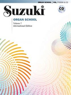 Suzuki Organ School vol 7, bok/cd