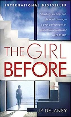 Girl before - a novel