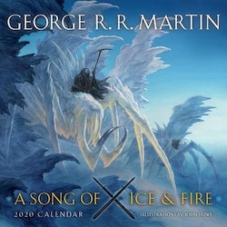 Song of ice and fire 2020 calendar - illustrations by john howe