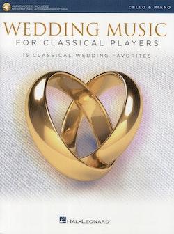 Wedding Music, cello piano