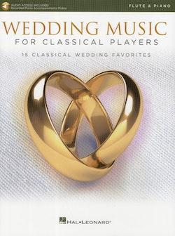 Wedding Music, flute piano