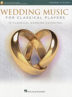 Wedding Music, trumpet piano