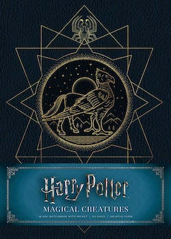 Harry Potter: Creatures Hardcover Blank Sketchbook