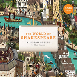 World of Shakespeare - 1000-piece jigsaw puzzle