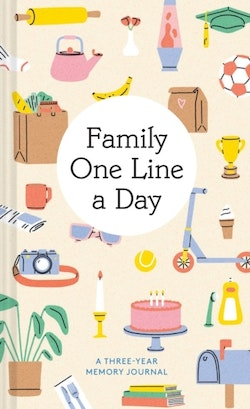 Family One Line a Day - A Three-Year Memory Journal