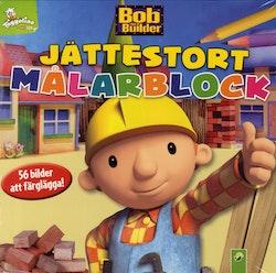 Byggare Bob - jättestort målarblock, 56 bilder att färglägga!