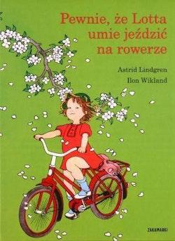 Pewnie że Lotta umie jeździć na rowerze