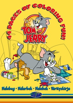 Tom & Jerry - Målarbok