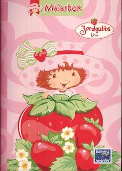 Jordgubbs-Lisa - Målarbok