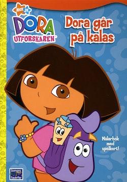 Dora utforskaren - Målarbok