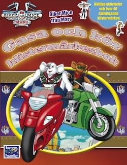 Biker Mice - Klistermärkesbok