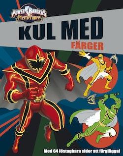 Power Rangers-Målarbok