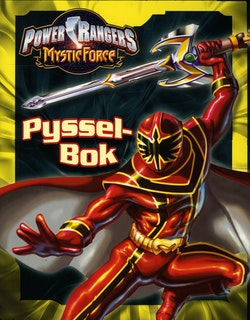 Power Rangers-Pysselbok