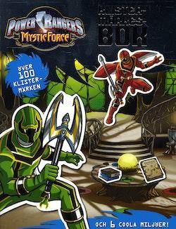 Power Rangers-Klistermärkesbok