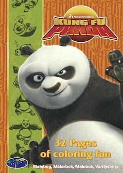 Kung Fu Panda - Målarbok