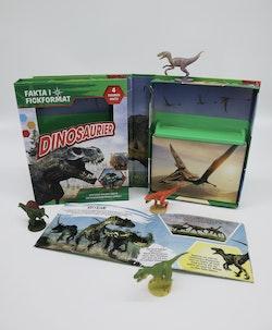 Dinosaurier : upptäck roliga fakta om dinosauriernas värld