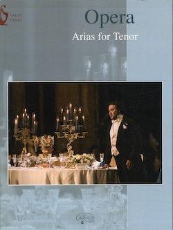 Opera arias for tenor pianovocal