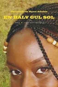 En halv gul sol