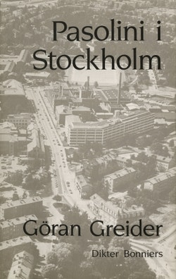 Pasolini i Stockholm : Dikter