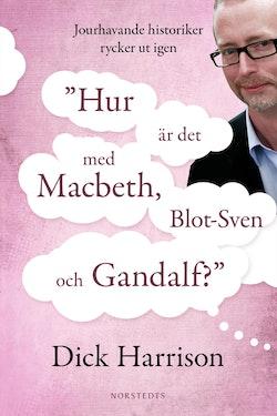 Hur är det med MacBeth, Blot-Sven och Gandalf? : jourhavande historiker rycker ut igen