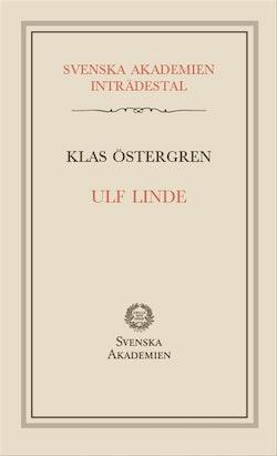 Ulf Linde : inträdestal i Svenska akademien