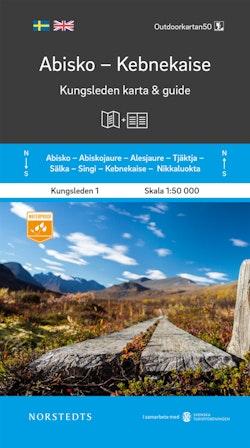 Abisko Kebnekaise Kungsleden 1 Karta och guide : Outdoorkartan skala 1:50 000