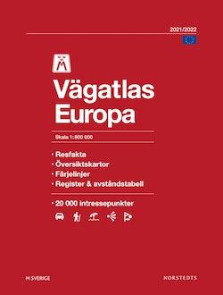 M Vägatlas Europa 2021-2022 : Skala 1:800 000