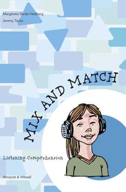 Mix and Match Hörförståelsehäfte levels 1-3