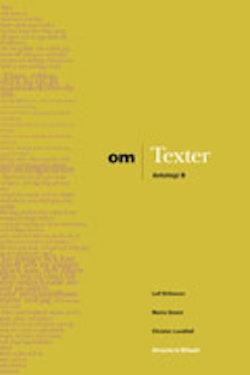 Om - Texter Antologi B