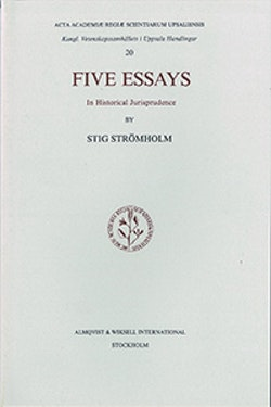 Five essays : In historical jurisprudence